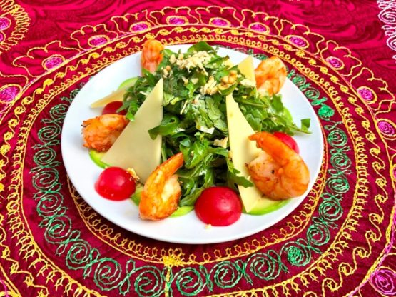 Заморский салат