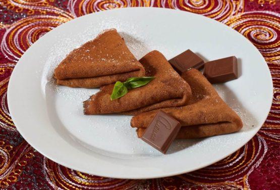 Блинчики шоколадные